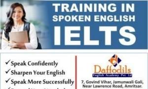 Training in spoken english